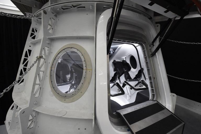 SpaceX anuncia acuerdo para enviar al primer turista ¡a la luna! / AFP PHOTO / Robyn Beck