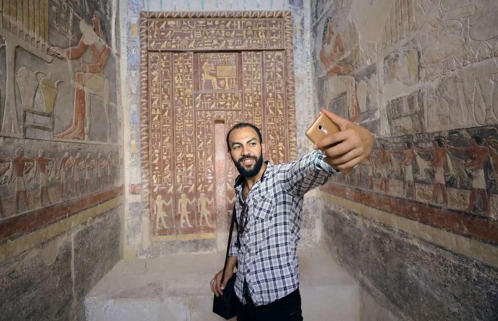 VISITANTES. El gobierno egipcio espera atraer más turistas. Foto: REUTERS