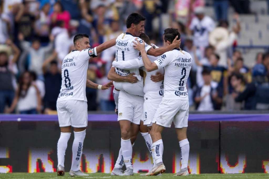 Foto  del partido Pumas vs. Lobos BUAP correspondiente a la jornada 9 del torneo Apertura 2018 de la Liga BBVA Bancomer desde el estadio de Ciudad Universitaria. Foto: Mexsport.