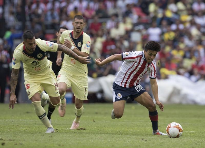 América y Guadalajara igualan en el #ClásicoNacional. Foto: Mexsport