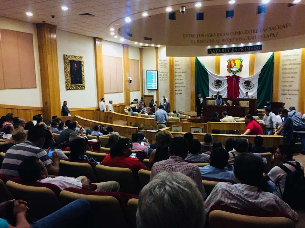 A la sesión no se presentó el ex gobernador ni sus representantes legales. FOTO: ESPECIAL