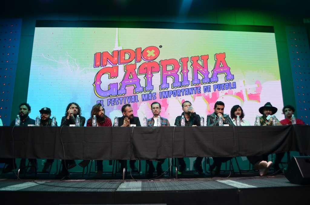 En Puebla, se llevará a cabo la tercera edición del Festival Catrina, que contará con las actuaciones de bandas como Maná, Fobia, Inspector, Babasónicos, Jumbo, así como el grupo estadunidense Weezer, el próximo 8 de diciembre. Foto: Notimex