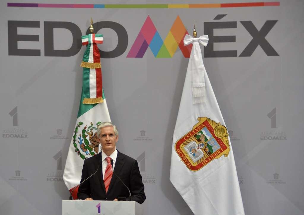 Primer Informe de actividades el Gobernador Alfredo Del Mazo Maza. Foto: Cuartoscuro