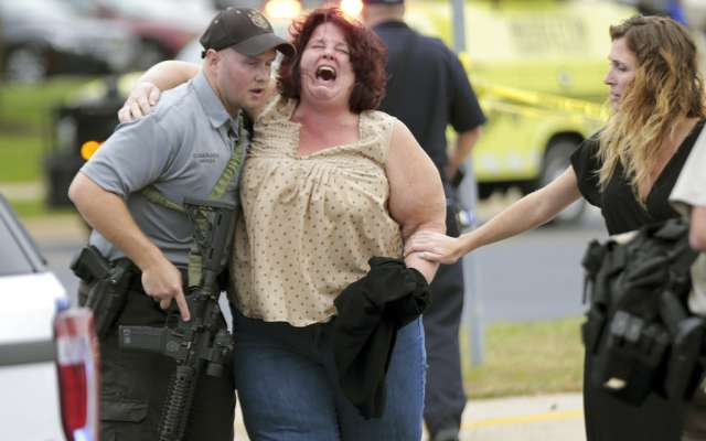 Testigos revelaron que los disparos se registarron alrededor de las 10:00 am. FOTO: AP