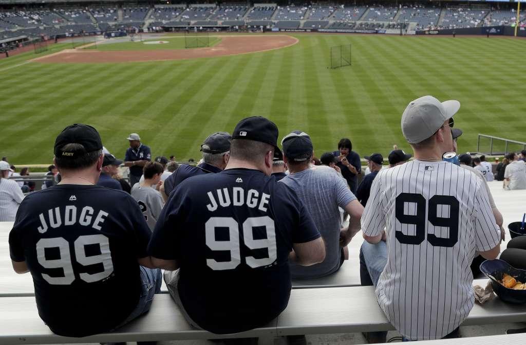 La lista está confeccionada con base a las ventas de los jerseys Majestic que se ofrecen en MLBShop.com. Foto: AP