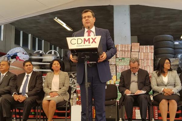 José Ramón Amieva dijo que su gobierno facilitará  todo para la elección. FOTO: ESPECIAL