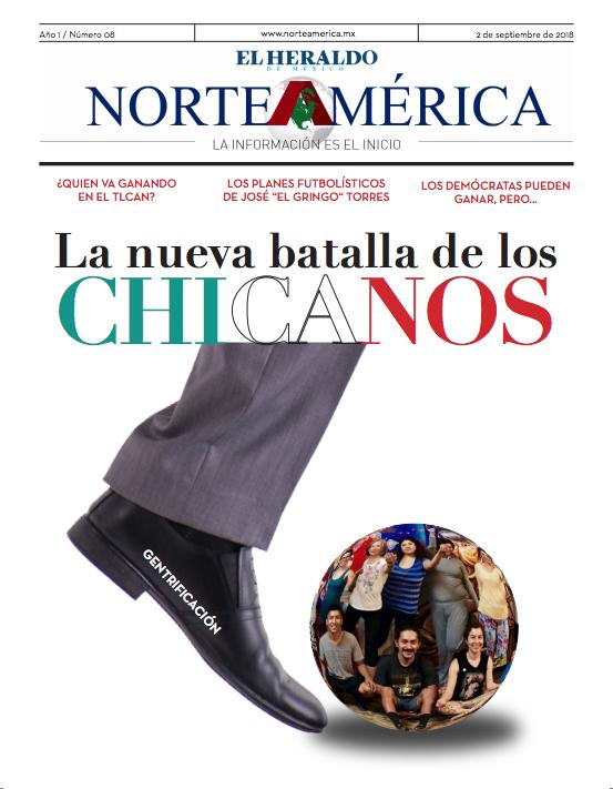 Heraldo de México Edición Norteamérica 2 de septiembre