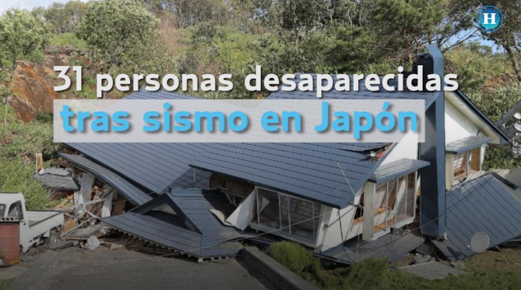 Nueve muertos y 300 heridos tras sismo en Japón