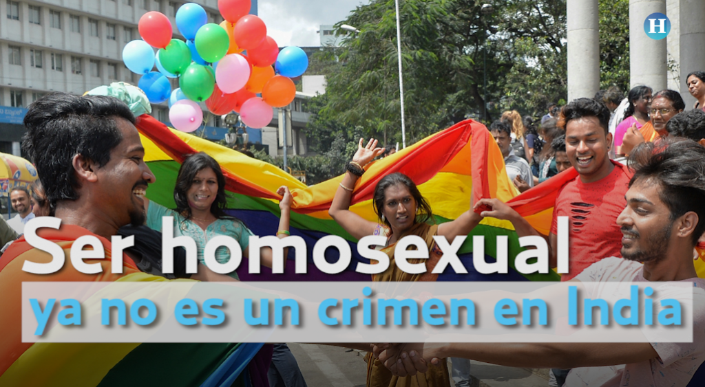 Ser homosexual ya no es un crimen en India