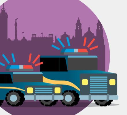 Acciones de la policía de CDMX del  13 de septiembre