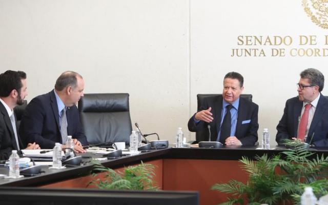 Fiscal General antes de diciembre:  Morena. Foto: @RicardoMonrealA
