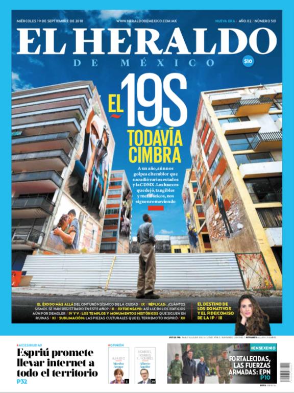 Portada El Heraldo de México