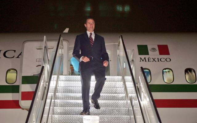 Peña Nieto ordena desde Nueva York atender desbordamiento en Peribán, Michoacán. Foto: @ESanchezHdz