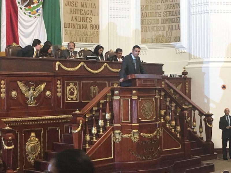 Presenta Morena Ley de Austeridad para la CDMX. Foto: @Congreso_CdMex