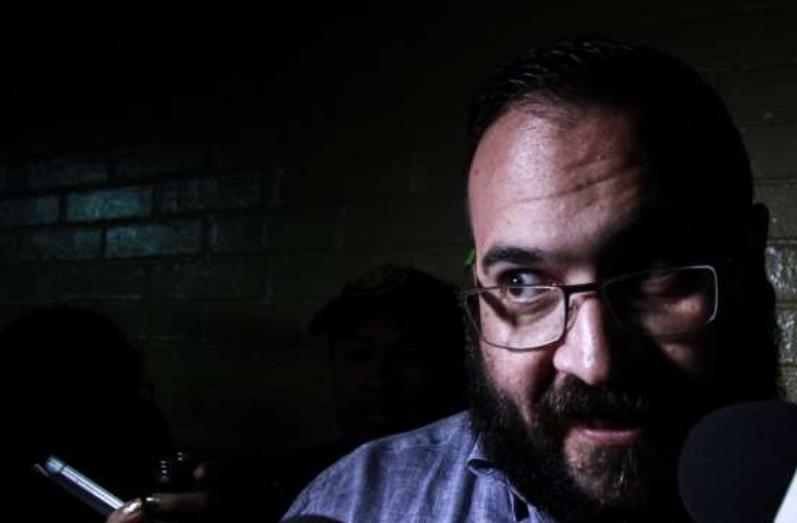En septiembre pasado, Javier Duarte fue sentenciado a nueve años de cárcel . FOTO: ARCHIVO