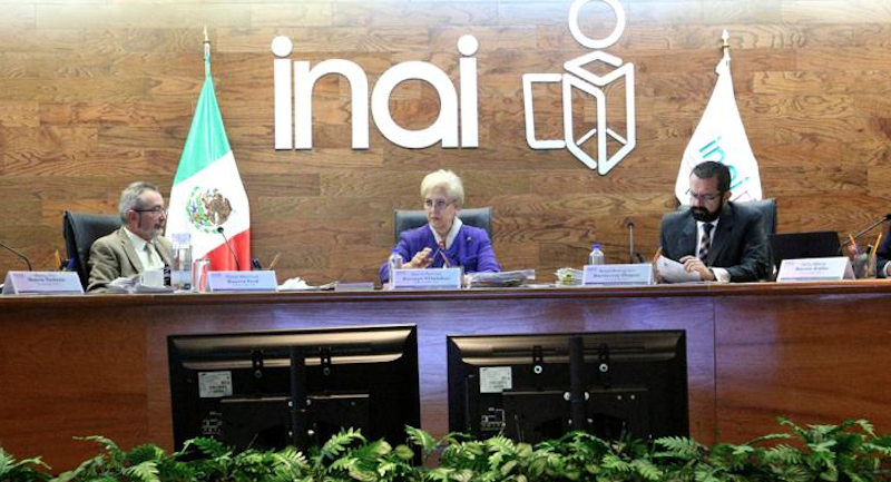 INAI garantiza apertura  para aclarar desaparición de estudiantes de Ayotzinapa. Foto:   @INAImexico