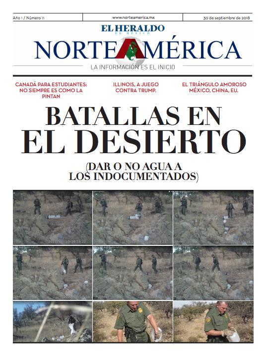 Heraldo de México Edición Norteamérica 30 de septiembre
