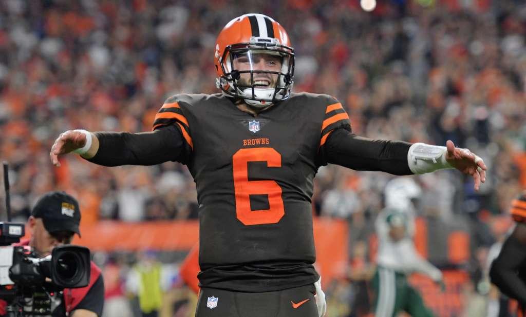 Fue el primer triunfo de los Browns desde el 24 de diciembre de 2016. Foto: AP