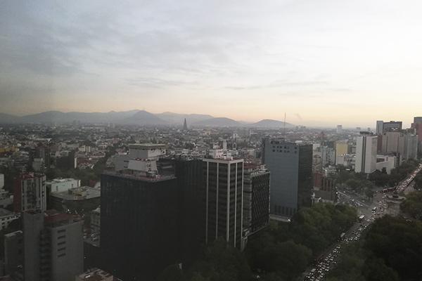 La temperatura máxima en la Ciudad de México será de 26 grados. FOTO: ESPECIAL