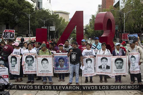 Se cumplen cuatro años de la desaparición de normalistas. FOTO: CUARTOSCURO