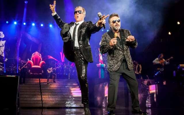 """Los cantante siguen de gira con """"Twor Amigos 2"""", show que han presentado en más de 50 ocasiones en distintos recintos del país. Foto: Especial"""