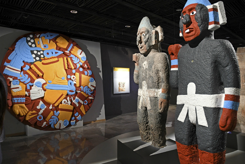 Museo Nacional de Antropología y el Museo Nacional de Historia los más valiosos