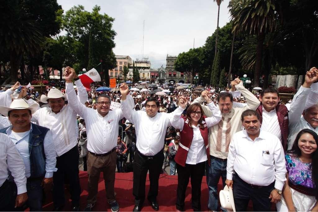 Tribunal Electoral valida multa a Morena en Puebla por más de un millón. Foto Archivo Cuartoscuro.com