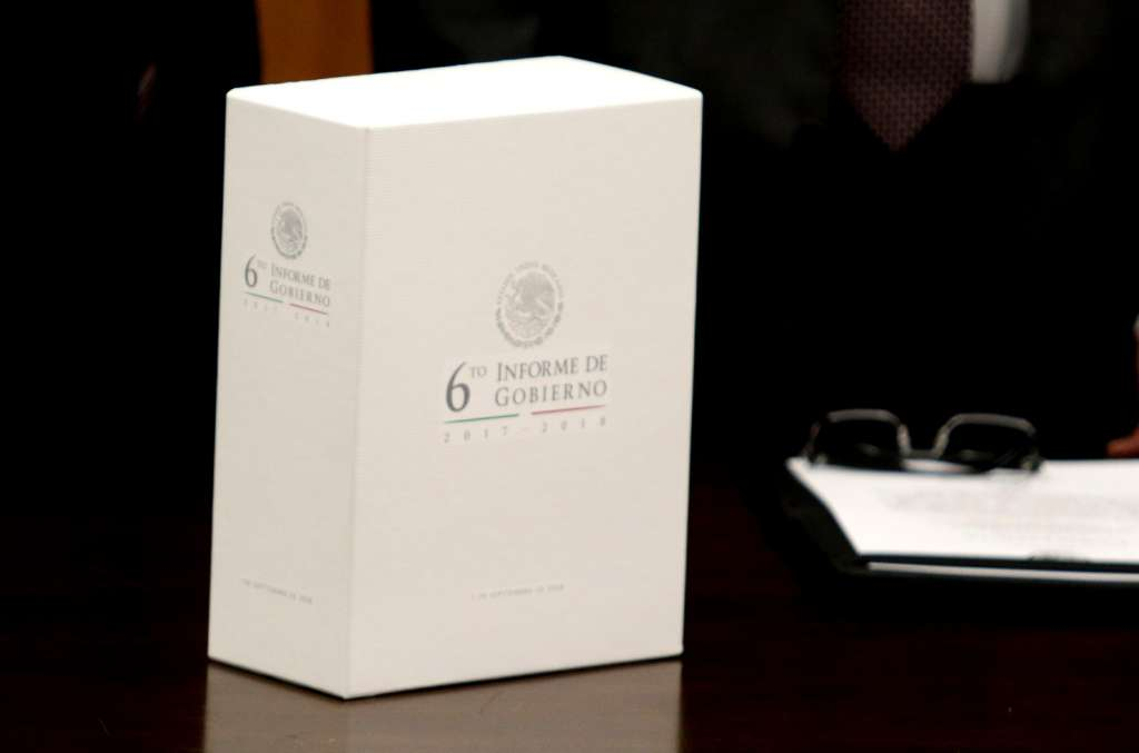 Con motivo de su sexto informe, el mandatario dará un mensaje en Palacio Nacional el próximo lunes (Foto: Cuartoscuro)
