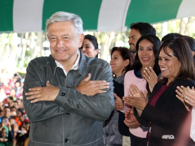 AMLO anuncia inversión de dos mil mdp para apoyo de jóvenes. Foto: Cuartoscuro.com