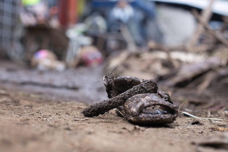 Sube a ocho el número de muertos por desbordamiento de río en Peribán, Michoacán. Foto: Armando Solis Oseguera