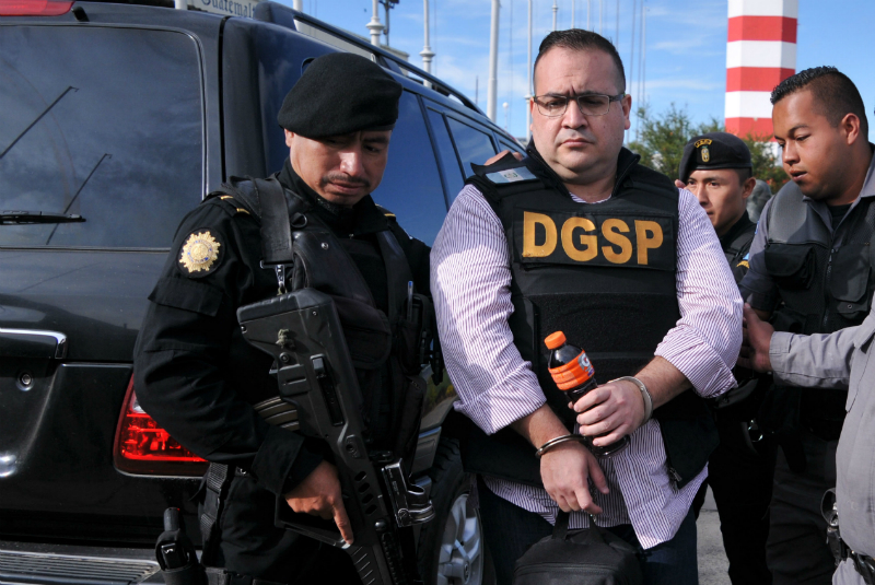 En la imagen, Javier Duarte en su detención FOTO: Cuartoscuro
