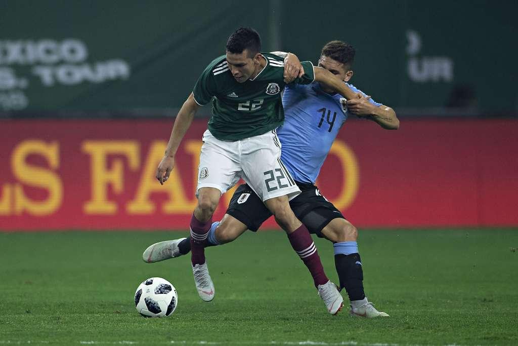 El timonel de la Selección Mexicana se valió de la juventud de sus jugadores para enfrentar a Uruguay, que venció con un contundente 1-4. Foto: @miseleccionmx