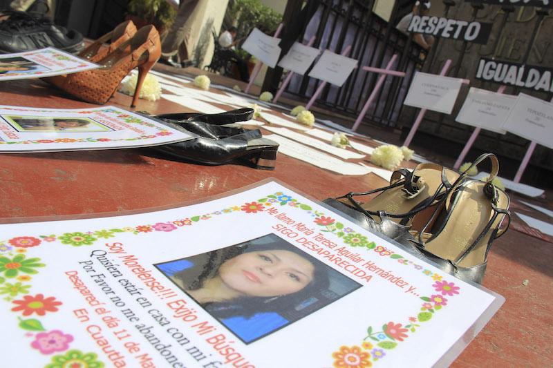 Un análisis del reporte del mapa de feminicidios, indica que, por lo menos, nueve mujeres son asesinadas cada día en México. FOTO: PATRICIA MORALES /CUARTOSCURO.COM