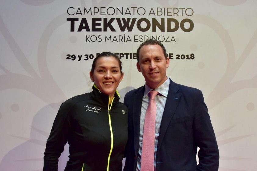 Se espera que a la cita acudan alrededor de tres mil 500 taekwondoínes de todos niveles y edades. Foto: @HoraciodelaVega