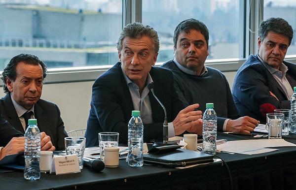 Macri no dio detalles sobre las medidas, que serán explicadas por el ministro de Economía Nicolás Dujovne. FOTO: AFP