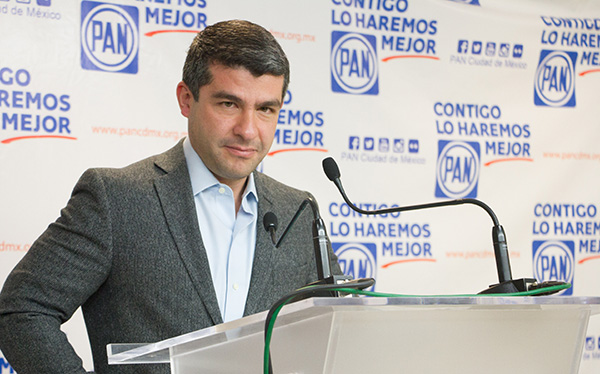 Mauricio Tabe, ex dirigente del PAN en la Ciudad. FOTO: CUARTOSCURO