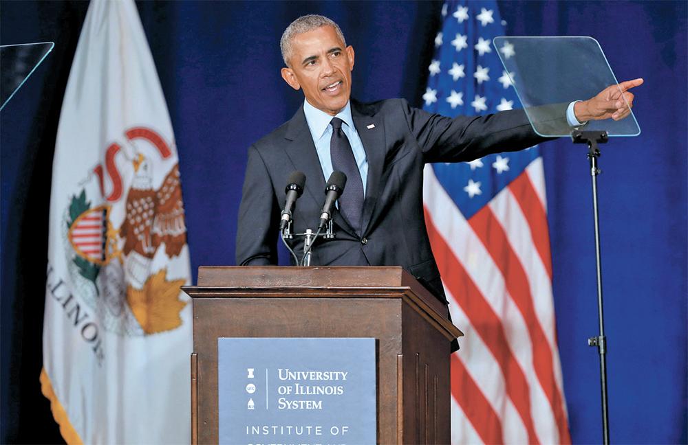 CAMPAÑA. Obama llamó a los electores a votar por los demócratas y ser un