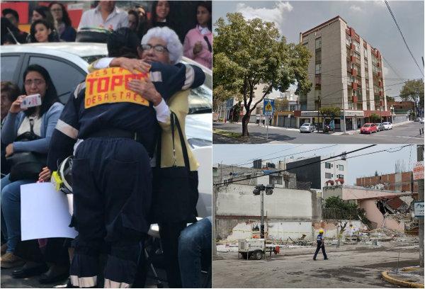 El edificio que estuvo en Petén y Zapata fue construido en 1979. Ahí se contaron 10 muertos, tras el sismo del 19 de septiembre de hace una año.