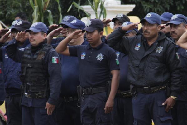 En Puebla hay 15 mil policías municipales y estatales. FOTO: ENFOQUE