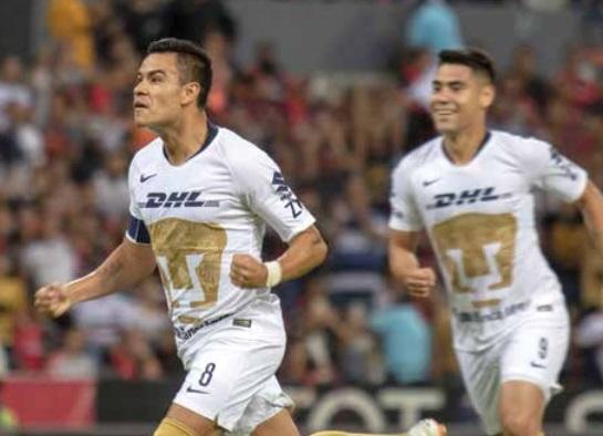 FIEROS. Los de la UNAM ostentan la mejor ofensiva del Apertura 2018. Foto: MEXSPORT