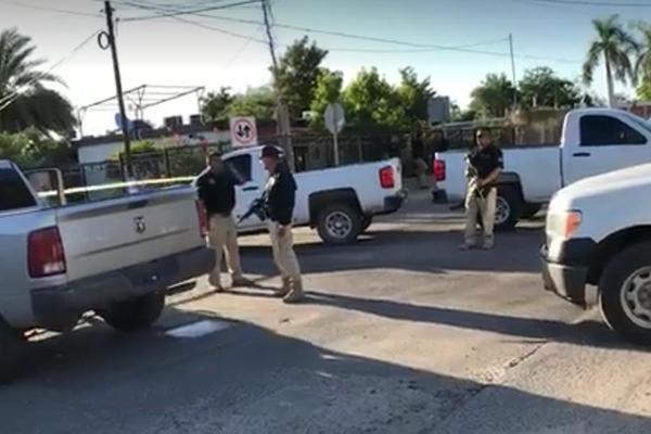 Policías abatieron a cuatro presuntos criminales. FOTO: ESPECIAL