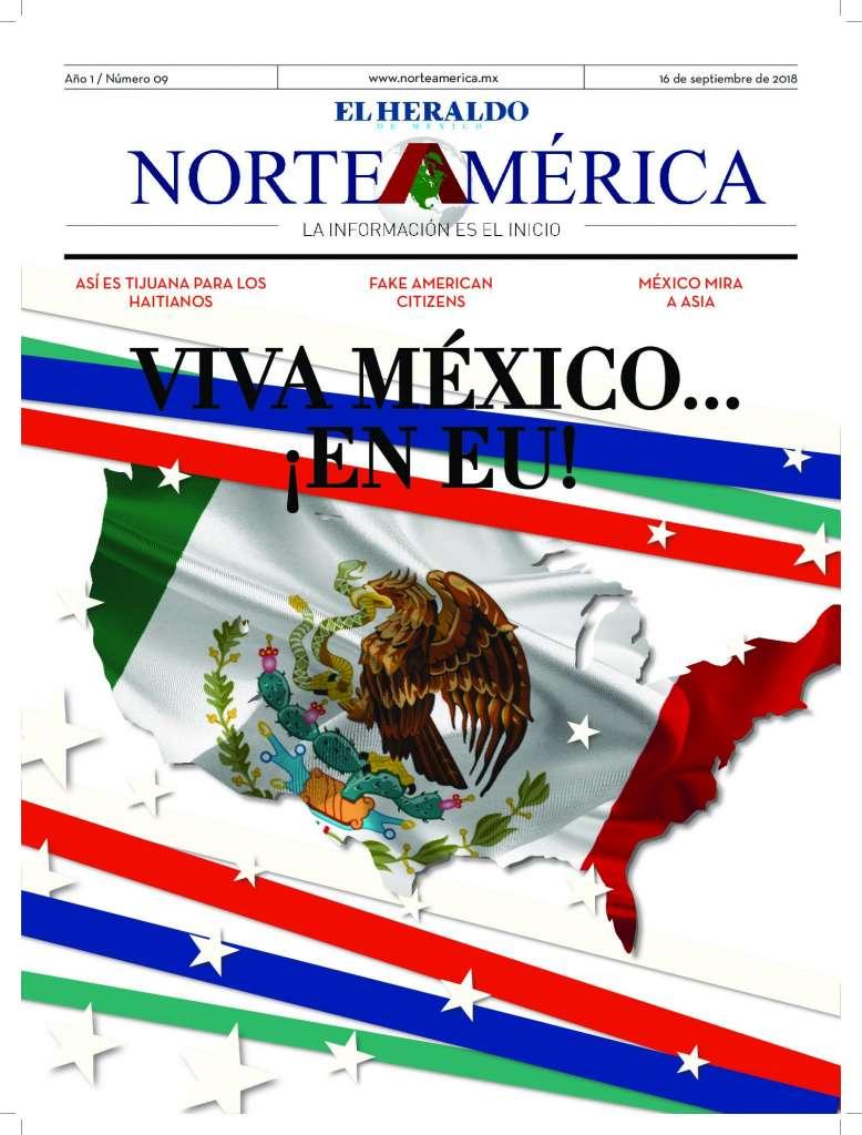 Heraldo de México Edición Norteamérica 16 de septiembre