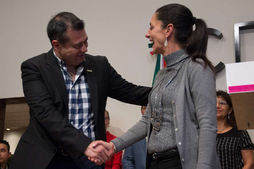 Sheinbaum ha criticado la falta de un censo de damnificados. FOTO: ARCHIVO/ CUARTOSCURO