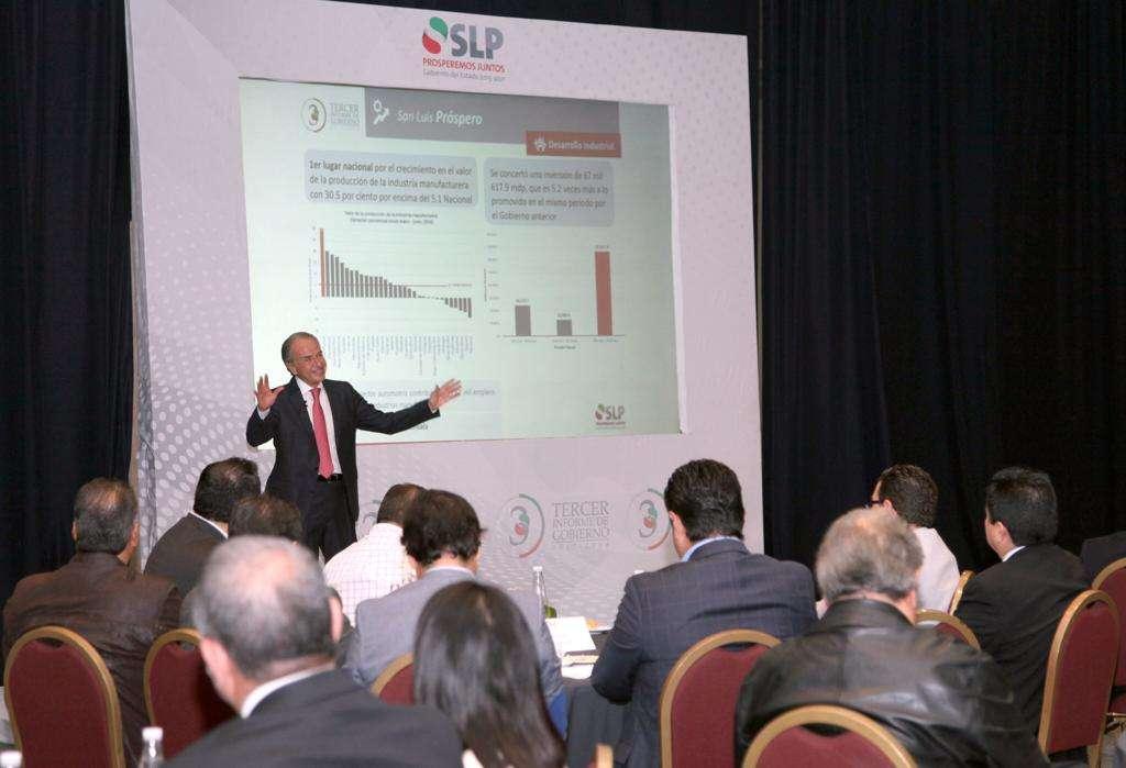 Sector empresarial reconoce consolidación del empleo en San Luis Potosí. Foto: Especial.