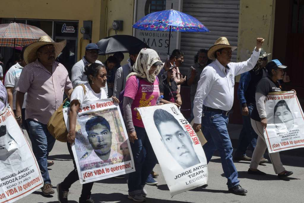 Los expertos internacionales denunciaron graves irregularidades en la investigación. Foto: Cuartoscuro