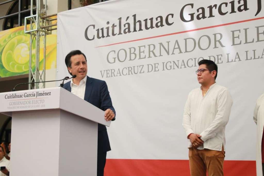 Cuitláhuac García nombra titulares de Salud, Turismo y Jefe de Oficina del Gobernador. Foto: Especial.