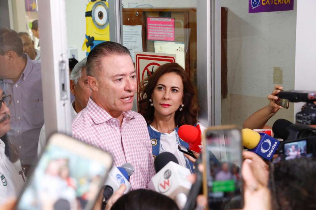Anuncian nuevo Hospital Pediátrico para Sinaloa con una inversión de 709 mdp. Foto: Especial.