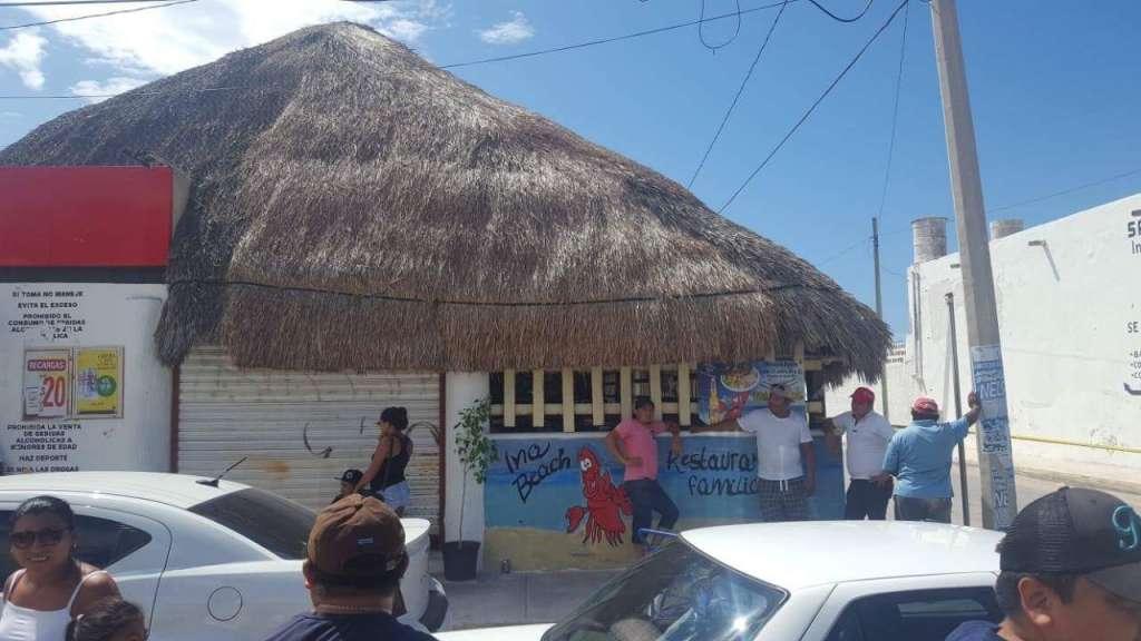 Ejecutan al dueño de bar en Progreso, Yucatán. Foto: Especial.