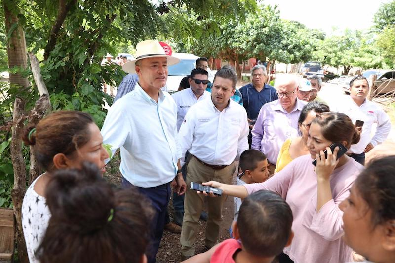 Quirino Ordaz solicita adelanto del Fonden para Sinaloa con fondo revolvente . Foto: Especial.