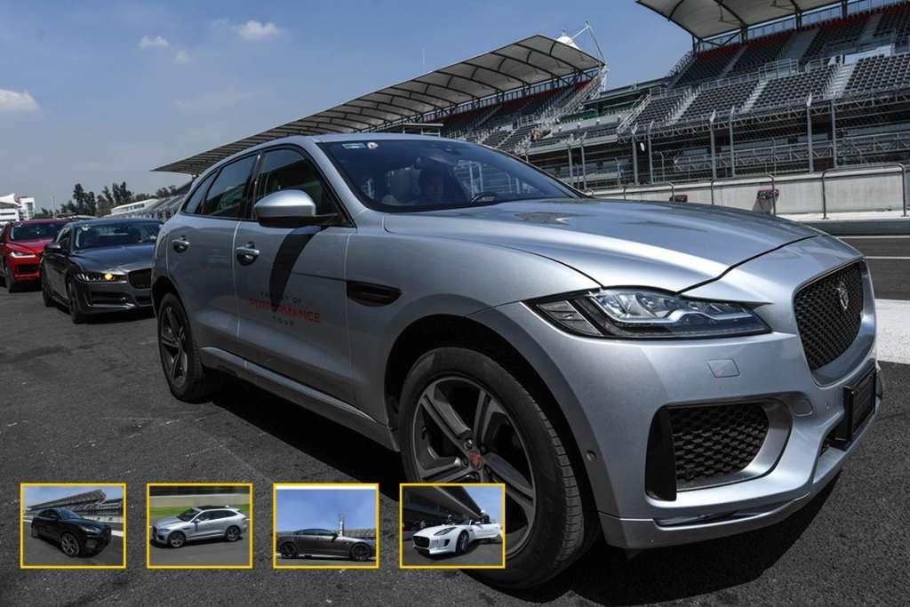 """PODER. El """"Jag"""" más potente hasta la fecha es el F-Type SVR, con un motor V8 de 575 hp y 516 lb-pie de par, con caja automática y tracción integral. Foto: Especial"""